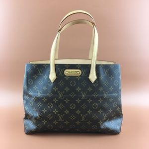 Preowned Louis Vuitton Wilshire MM Monogram Canvas